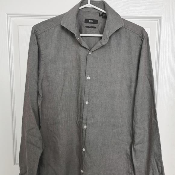 HUGO BOSS Slim Fit Button Down Shirt